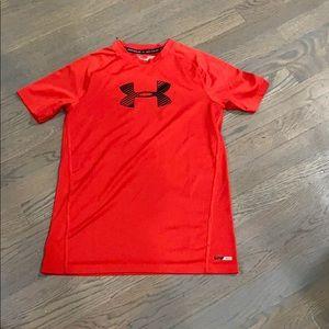 Boys Under Armour UPF shirt